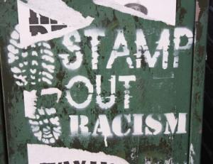 Graffiti in Belfast.