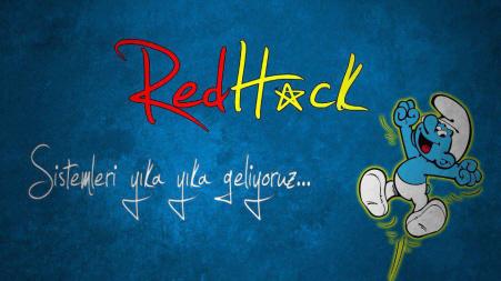 RedHack, een van de groepen die nadrukkelijk aanwezig is op internet.