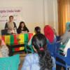 Vrouwenbijeenkomst in Rojava.