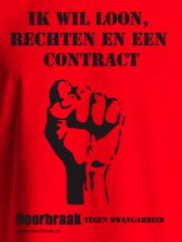 T-shirt uit de Doorbraak-winkel.