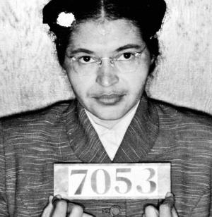Rosa Parks na haar arrestatie