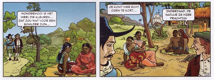 Koloniaal seksisme. (Klik op de strip voor een grotere versie.)
