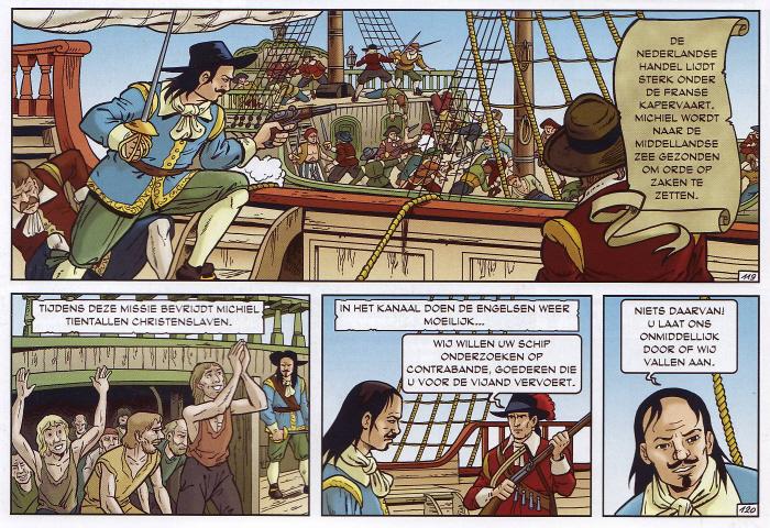Christenslaven en controle. (Klik op de strip voor een iets grotere versie.)