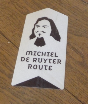 De Ruyter-route in het museum.