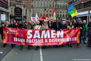 Samen tegen racisme & discriminatie.