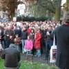 """De """"Schreeuw om cultuur""""-manifestatie in Leiden"""