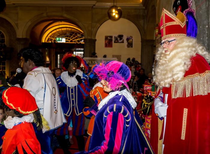 En o ja, Sinterklaas was er ook.