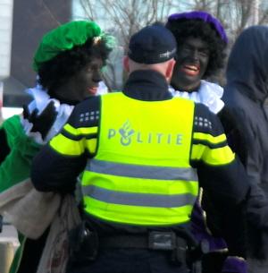 Politie en nazi's in Utrecht.