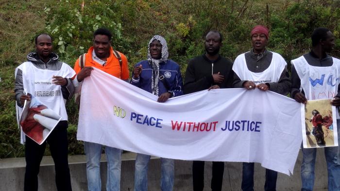 Zonder rechtvaardigheid geen vrede.