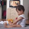 Baby Souhaib, had er volgens woningcorporatie De Key beter nog even niet kunnen zijn.