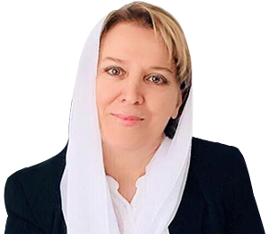Ayşe Sucu van de nieuwe extreem-rechtse İyi Parti.