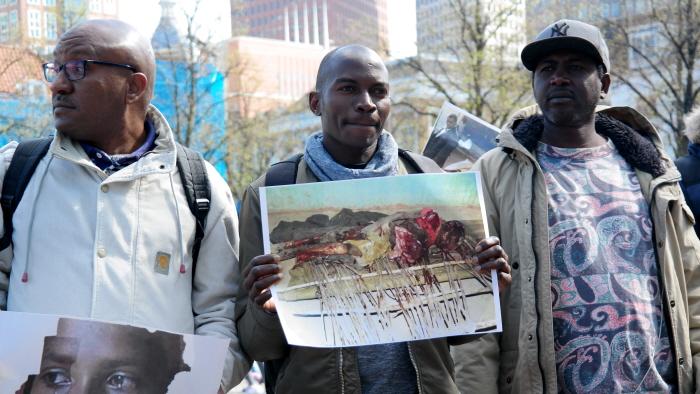 Slachtoffers van Al-Bashir.