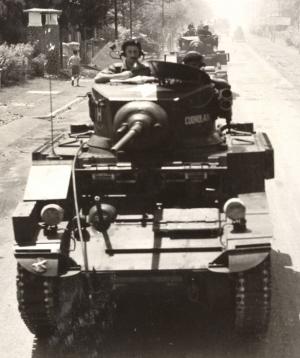 Nederlandse tank in Indonesië.