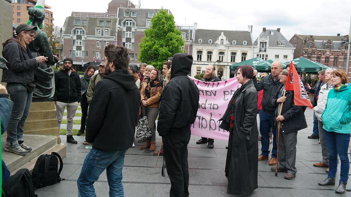 Toespraak van Doorbraak-activiste Mariët van Bommel.