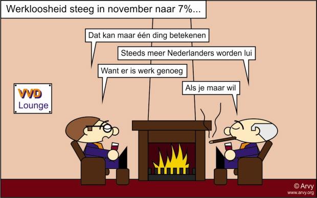 Klik op de cartoon voor een grotere versie (Cartoon: Arvy, meer op www.arvy.org)