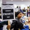Actie tegen de racistische karikatuur.