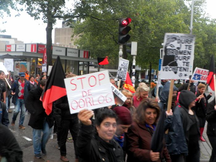 Stop de oorlog.