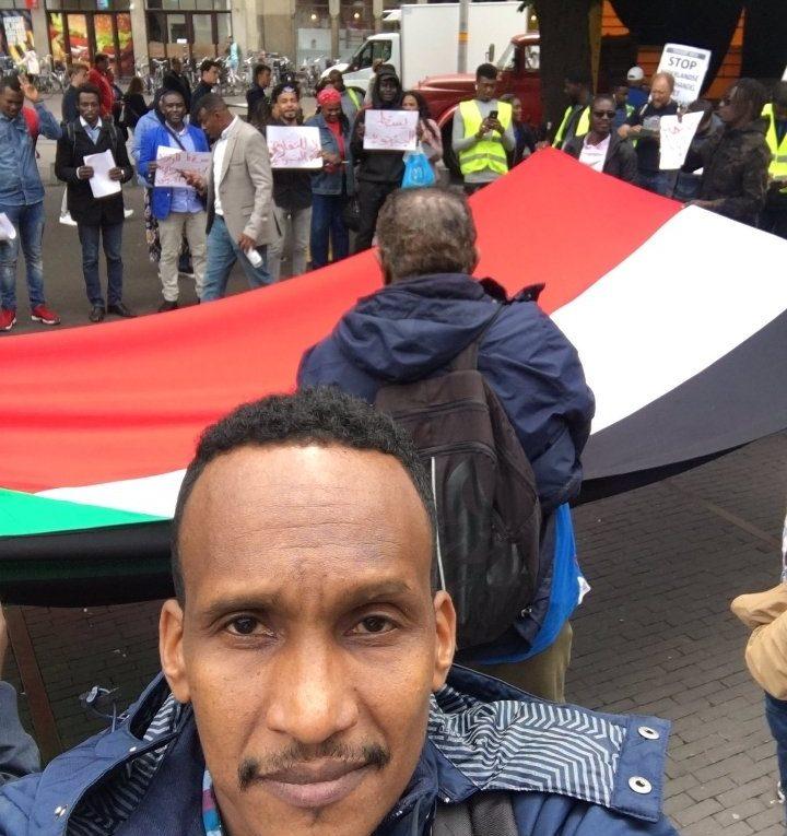 De Soedanese ambassade in Den Haag terroriseert Soedanese vluchtelingen zonder papieren
