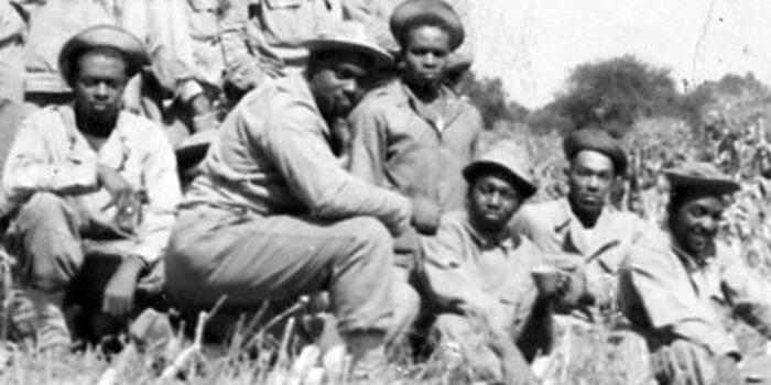 Zwarte soldaten in Limburg.