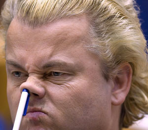"""Het moet ons gaan om de bevolking en niet om Wilders' """"volk""""."""