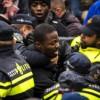 Afriyie werd in Gouda keihard aangepakt door de politie.