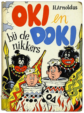 Nederlandse traditie: kinderboek uit 1957.