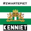Logo van Zwarte Piet Kenniet.