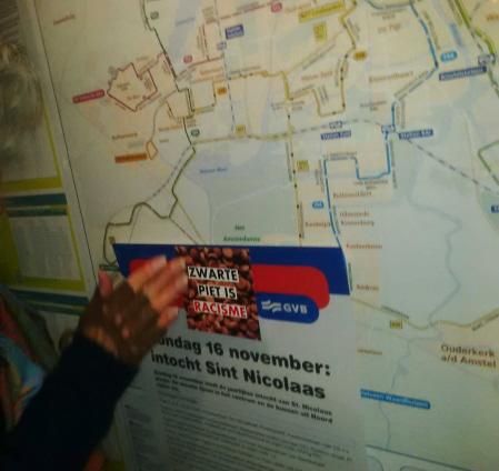 Over de intocht-info in een Amsterdams bushuisje.
