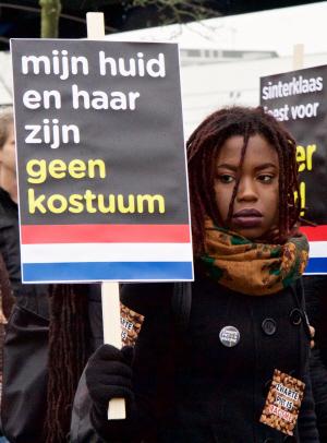 Gisteren in Utrecht. (foto: Jaye Brunsveld)