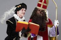 Zwarteklaas en Witte Piet.