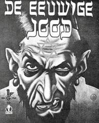 Oude antisemitische poster.