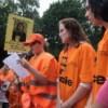 Actie bij Center Parks