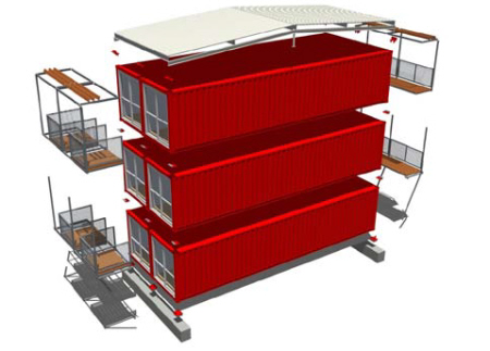 Containerleven - Huis in containers ...
