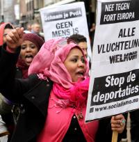 Demonstratie op 23 maart 2013 in Amsterdam. (Foto: Jan Kees Helms)