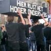 Amsterdam, 23 maart 2012: studenten in actie