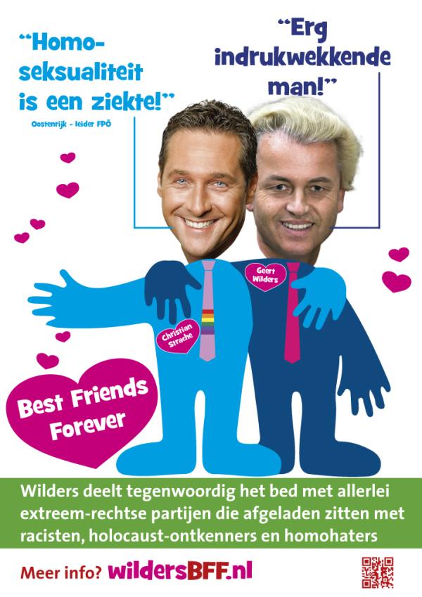 Poster van FPÖ.