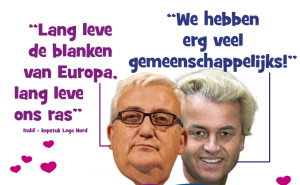 Wilders en Borghezio van de Lega Nord.