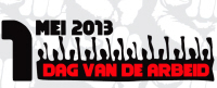 Logo 1 mei-viering Amsterdam.