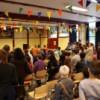 Drukte op de vluchtelingendag in Leiden