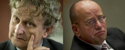 Het akelige duo: van der Laan en Teeven