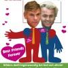 Poster over het Vlaams Belang. Bestellen? Zie: wildersBFF.nl