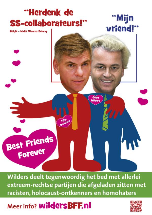 Poster over het Vlaams Belang.